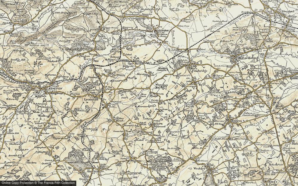 Weston, 1900-1903