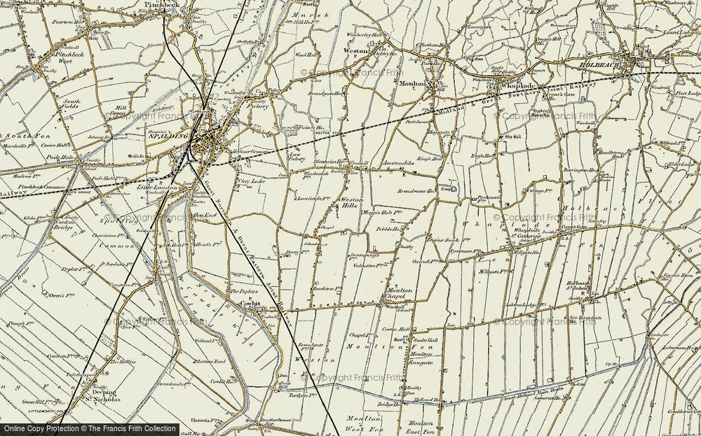 Weston Hills, 1901-1903