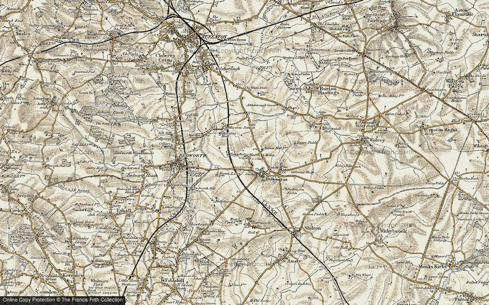 Weston in Arden, 1901-1902