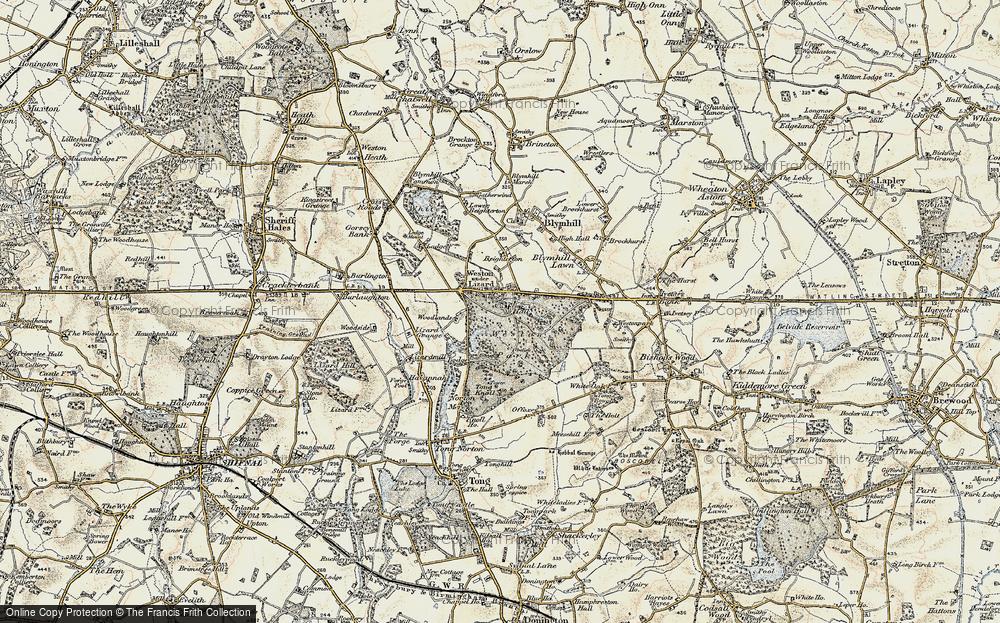 Weston Under Lizard, 1902