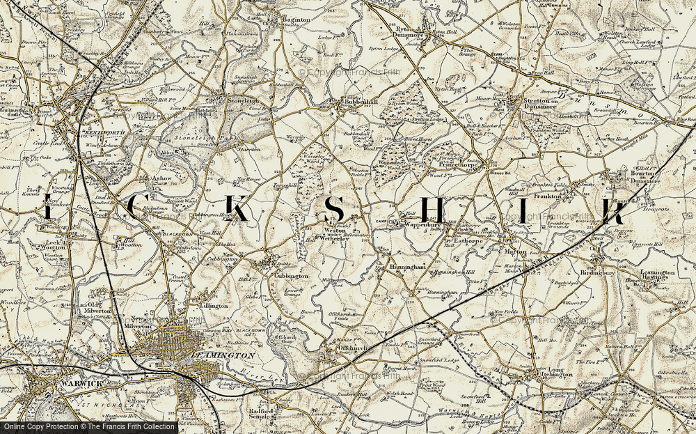 Weston under Wetherley, 1901-1902