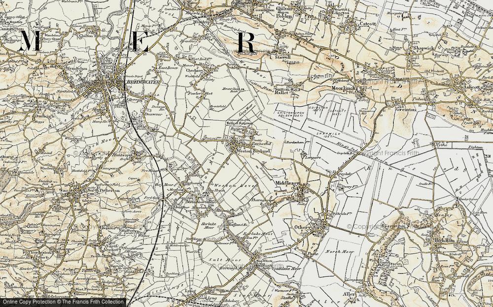 Westonzoyland, 1898-1900