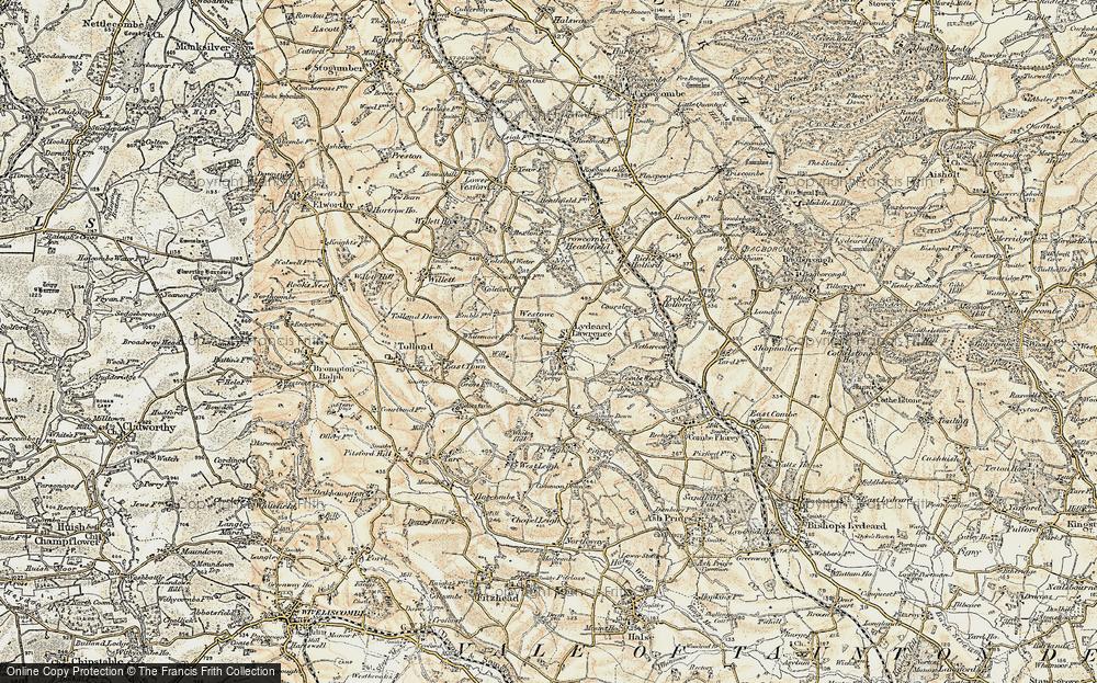 Old Map of Westowe, 1898-1900 in 1898-1900