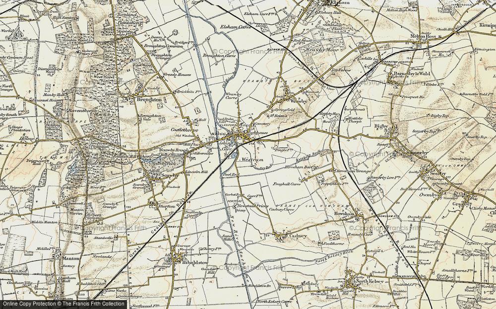 Westrum, 1903-1908