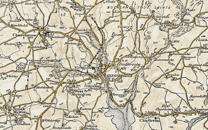 Old map of Westville in 1899