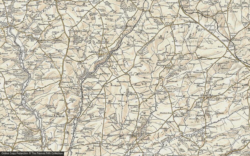 Westweekmoor, 1900