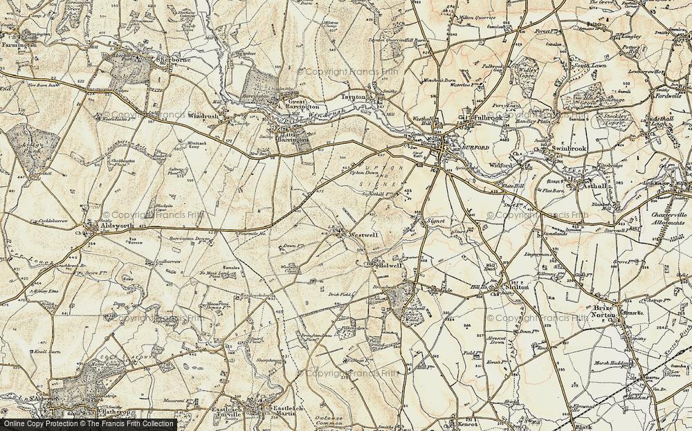 Westwell, 1898-1899