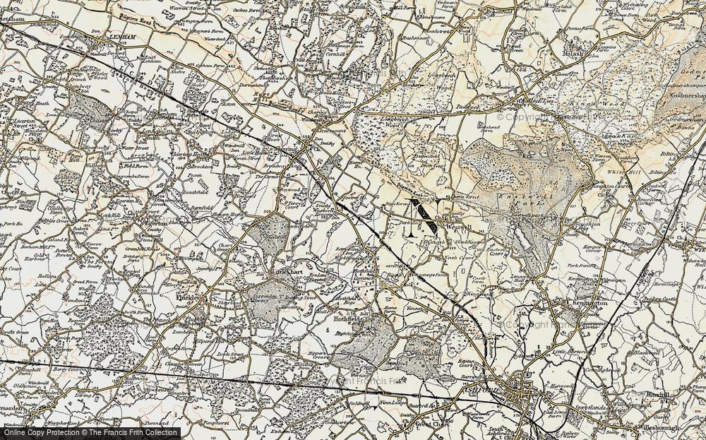Westwell Leacon, 1897-1898