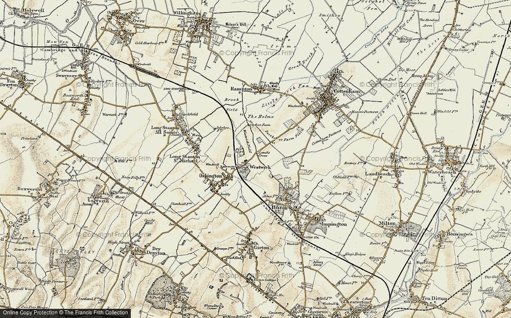 Westwick, 1899-1901