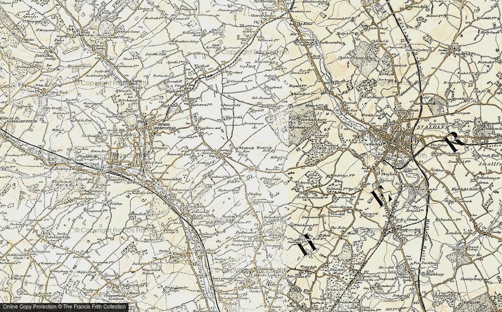 Westwick Row, 1898