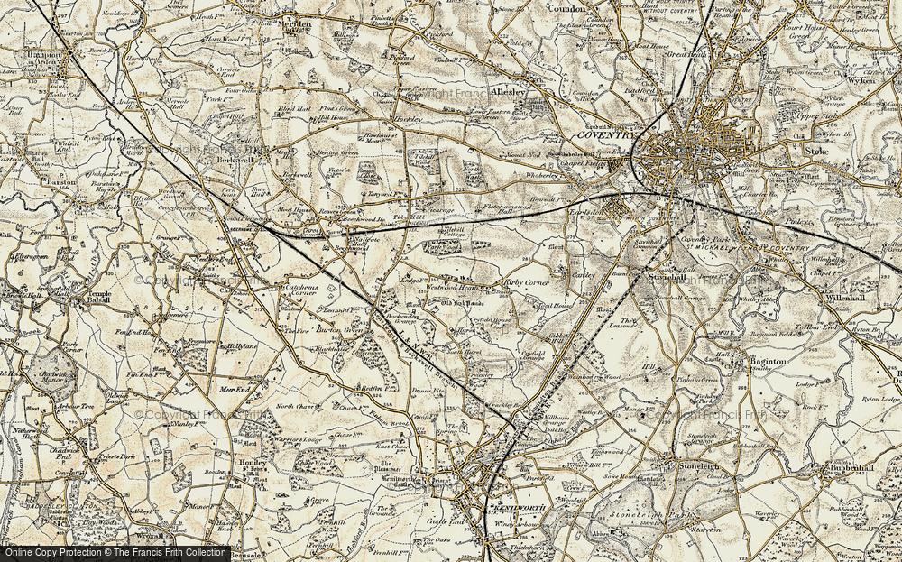Westwood Heath, 1901-1902