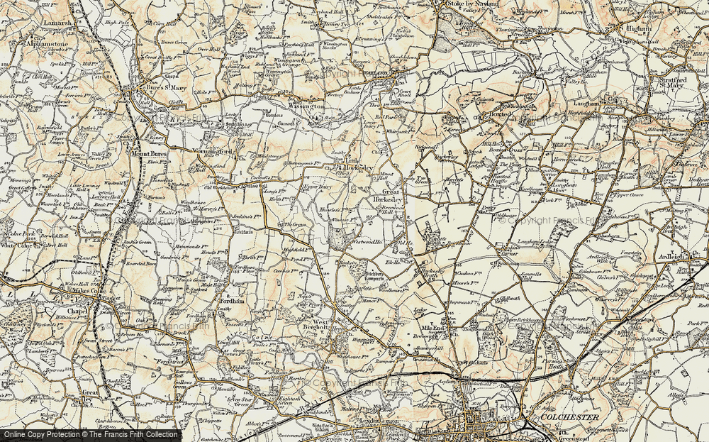 Westwood Park, 1898-1899