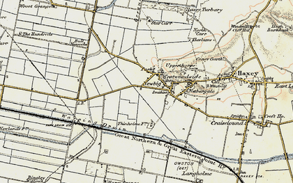Old map of Westwoodside in 1903