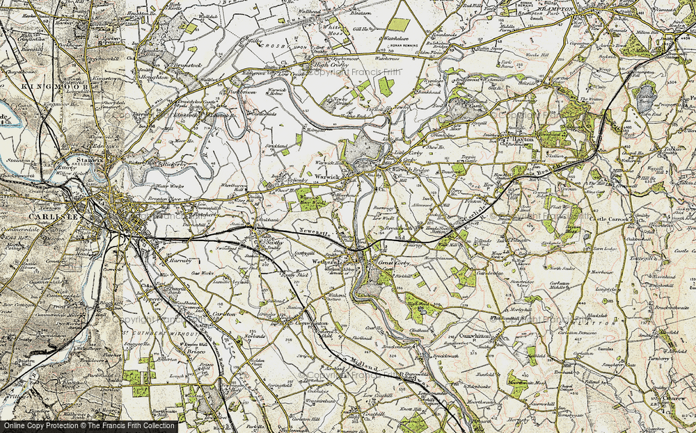 Wetheral Plain, 1901-1904