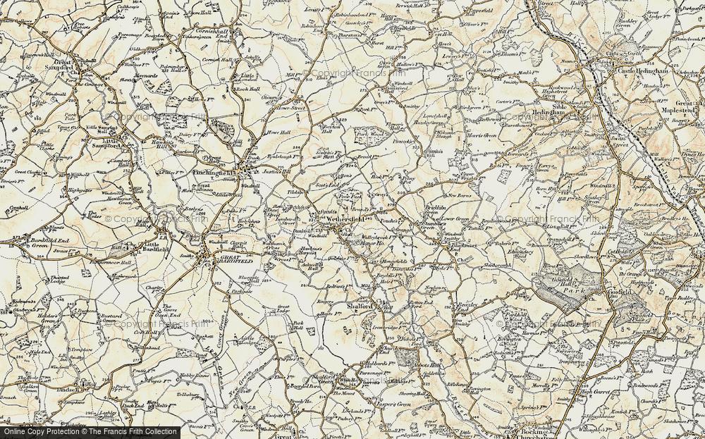 Wethersfield, 1898-1899