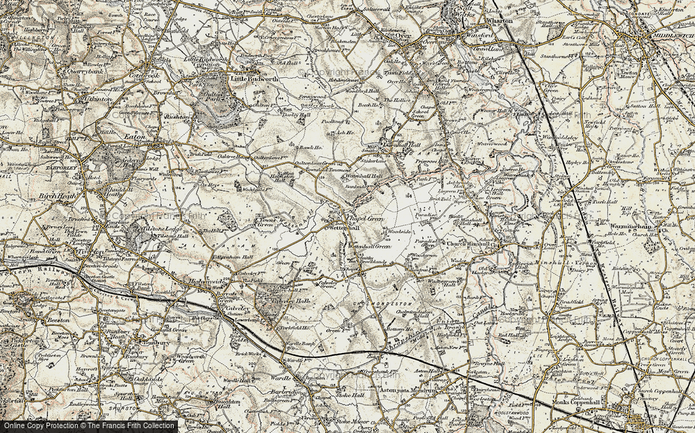 Wettenhall, 1902-1903
