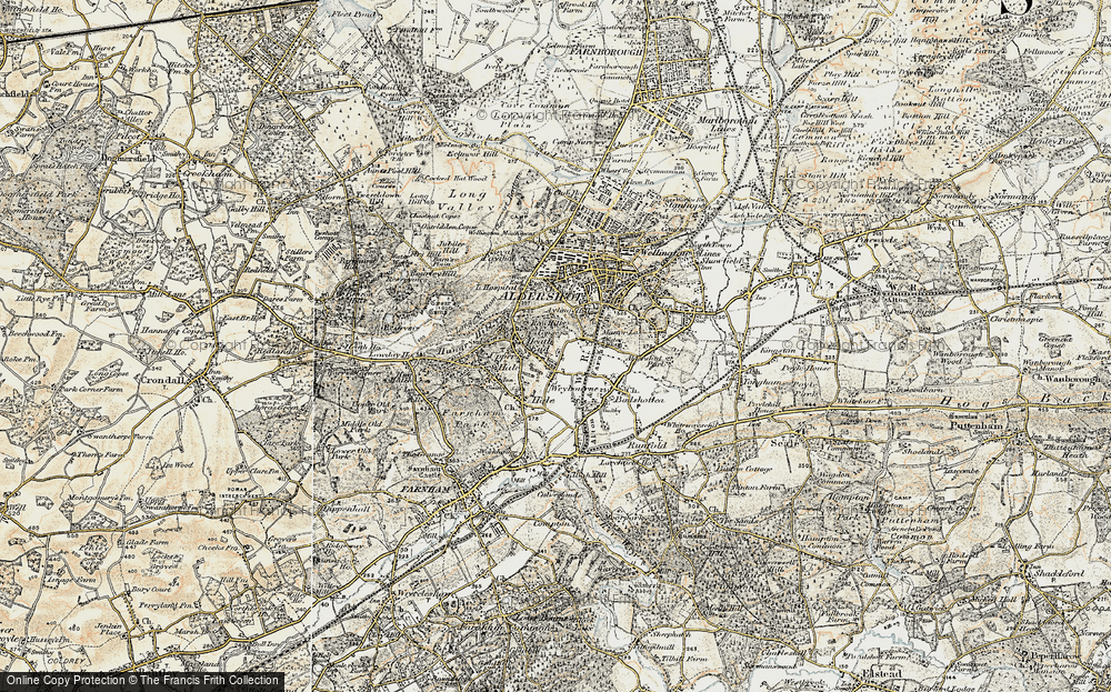 Old Map of Weybourne, 1898-1909 in 1898-1909