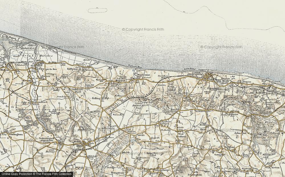 Weybourne, 1901-1902