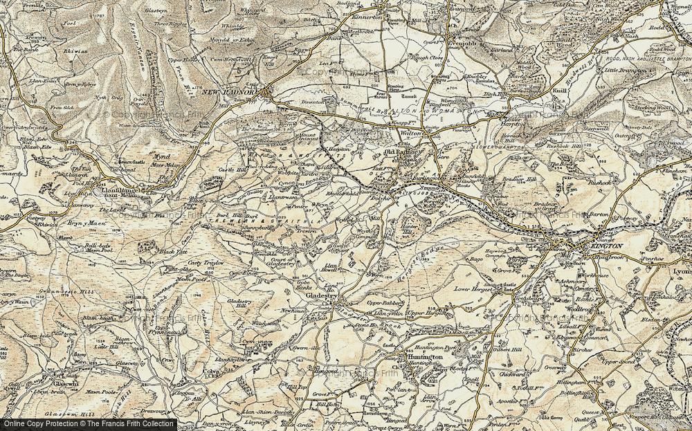 Weythel, 1900-1903
