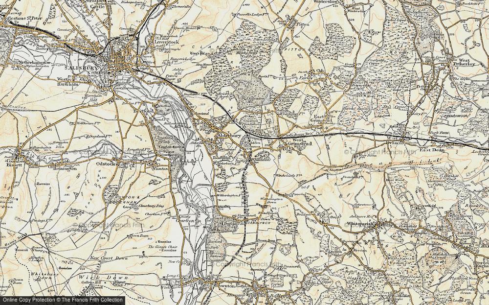 Whaddon, 1897-1898
