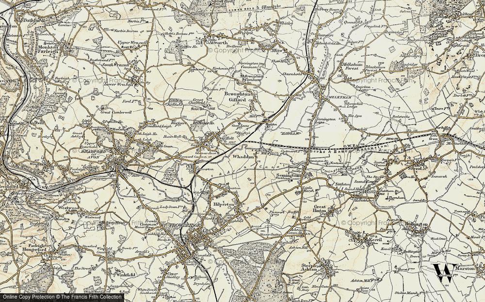 Whaddon, 1898-1899