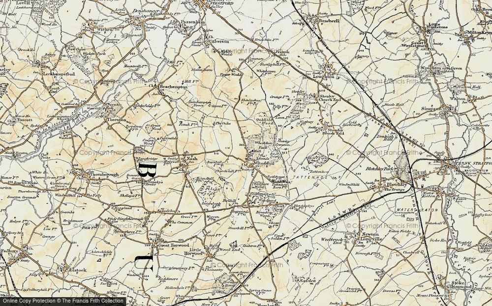 Whaddon, 1898-1901
