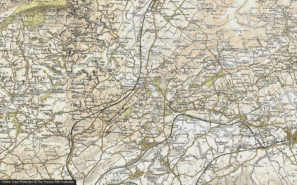Whalley Banks, 1903-1904