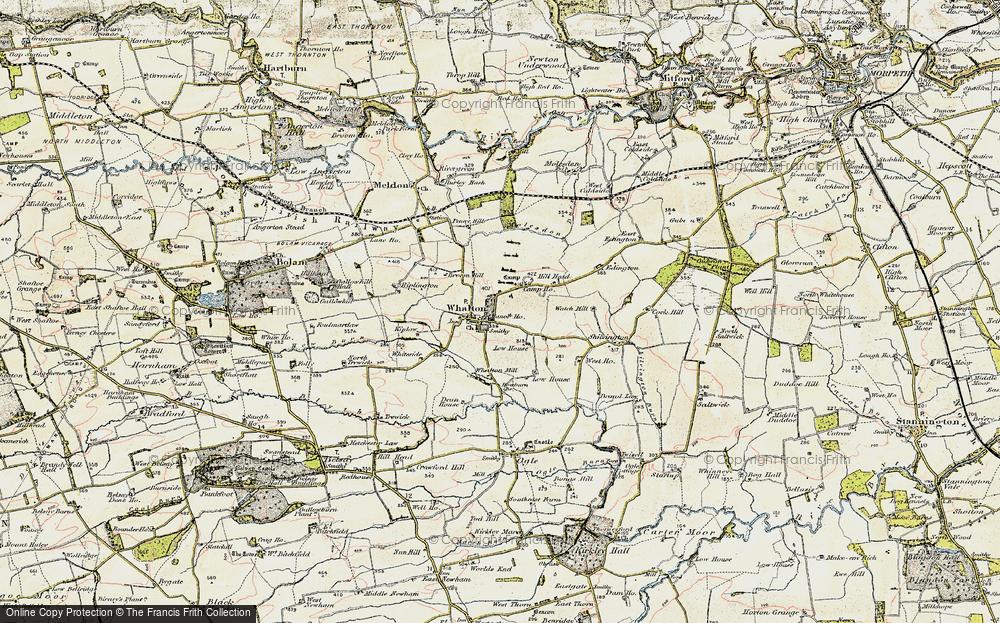 Whalton, 1901-1903