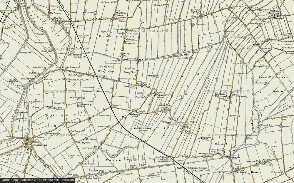 Whaplode Drove, 1901-1902