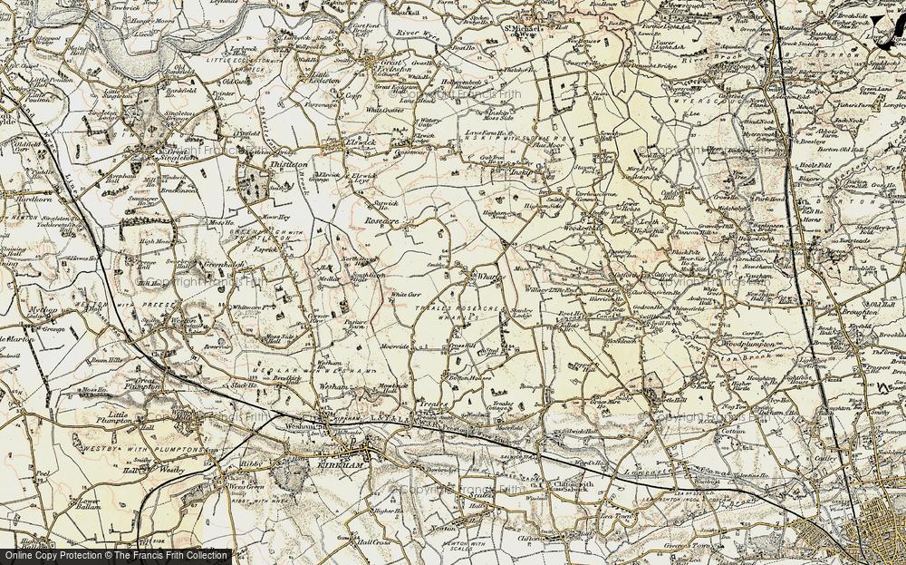 Wharles, 1903-1904