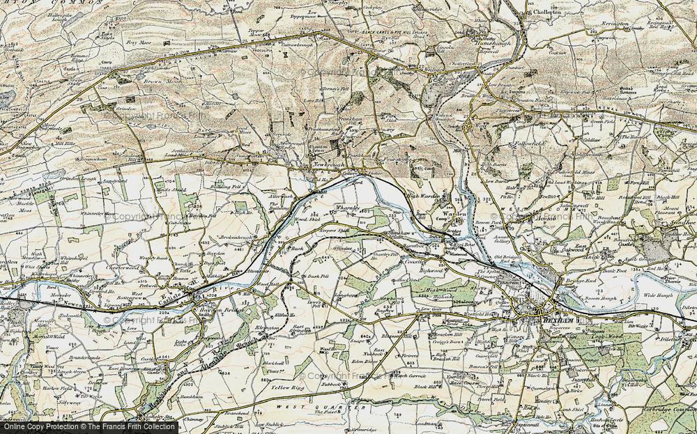Wharmley, 1901-1904