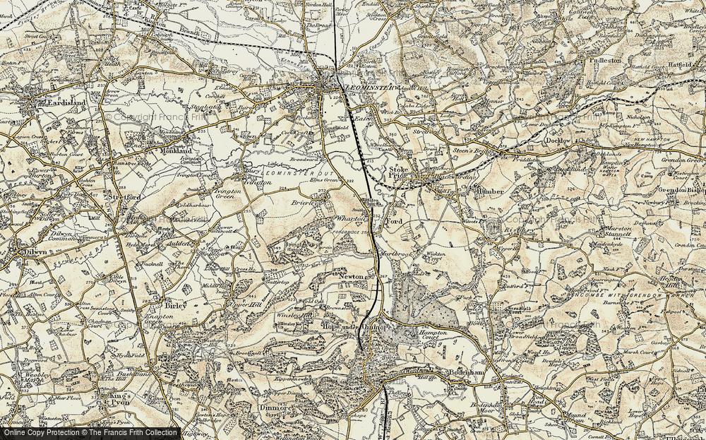Wharton, 1900-1902