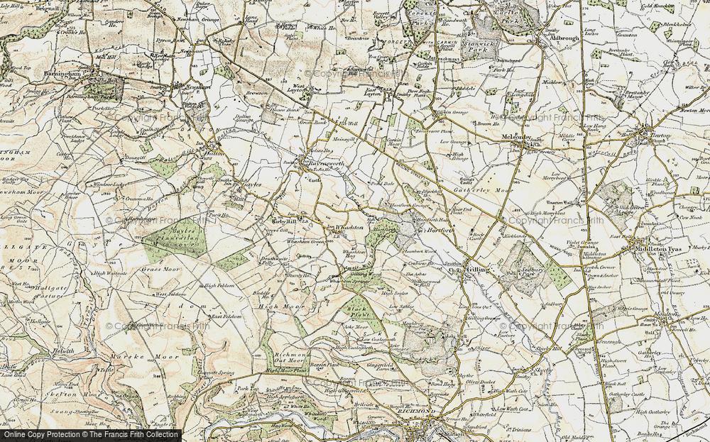 Whashton, 1903-1904