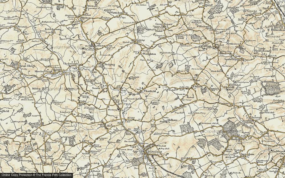 Whatfield, 1899-1901