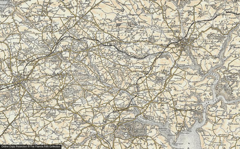 Wheal Baddon, 1900