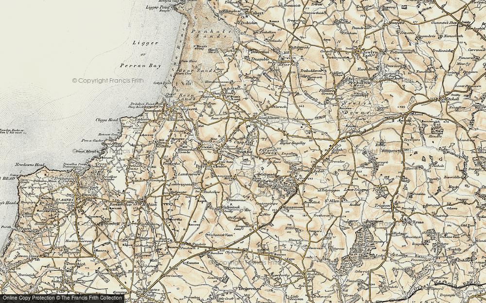 Wheal Frances, 1900