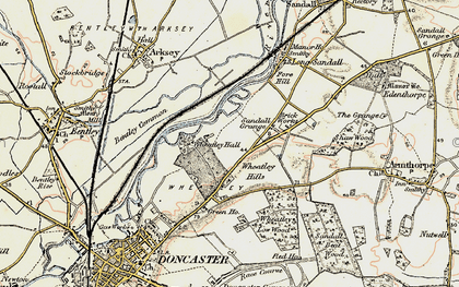 Old map of Wheatley Park in 1903