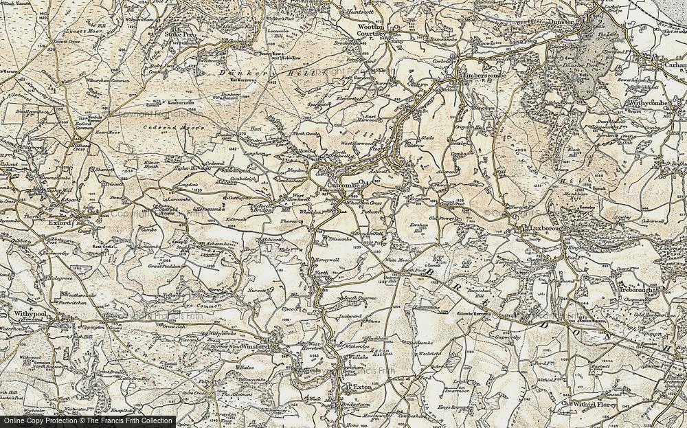 Wheddon Cross, 1898-1900