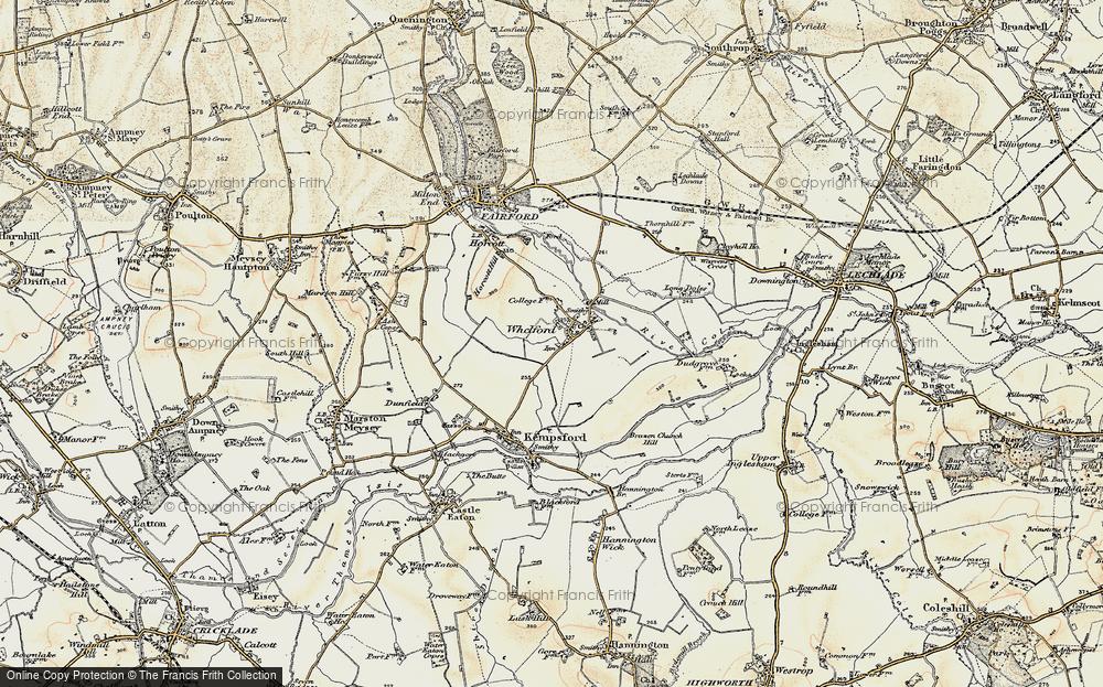 Whelford, 1898-1899