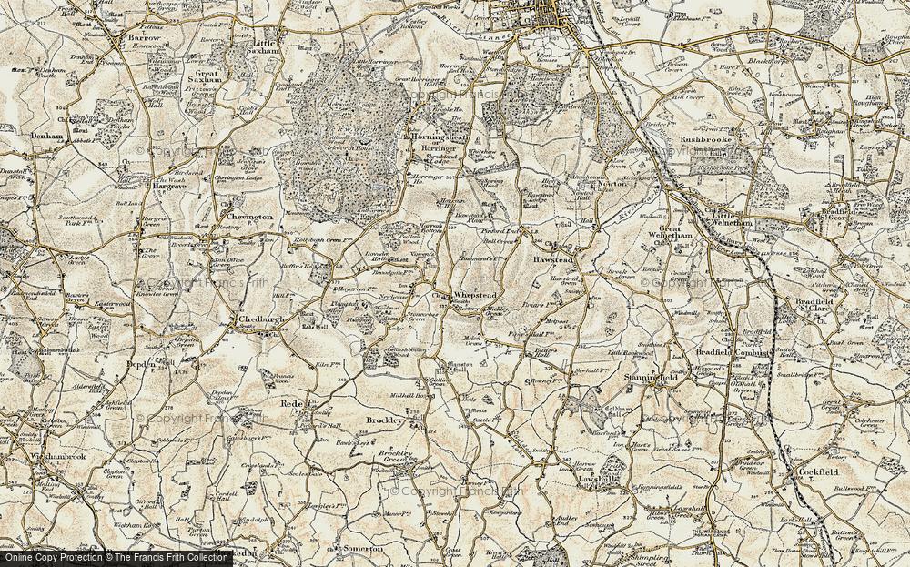 Whepstead, 1899-1901