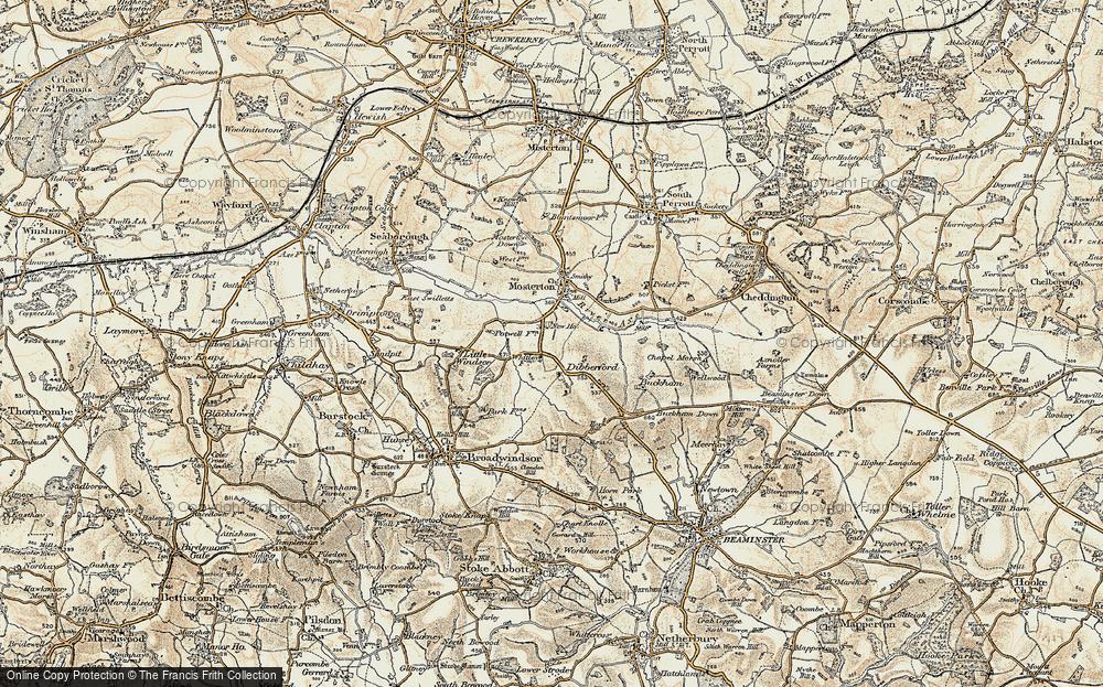 Whetley Cross, 1898-1899