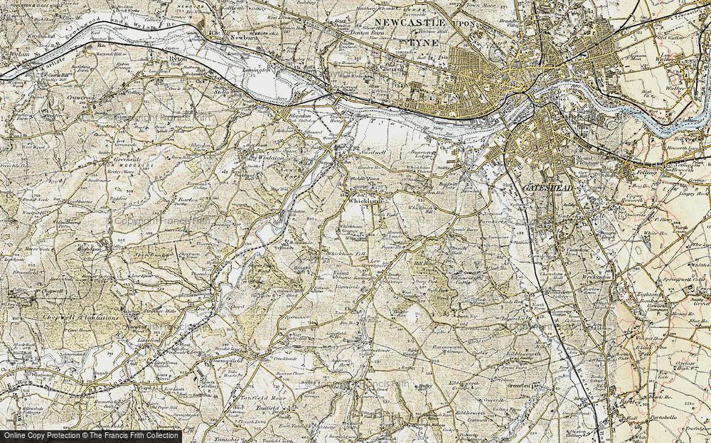 Whickham, 1901-1904
