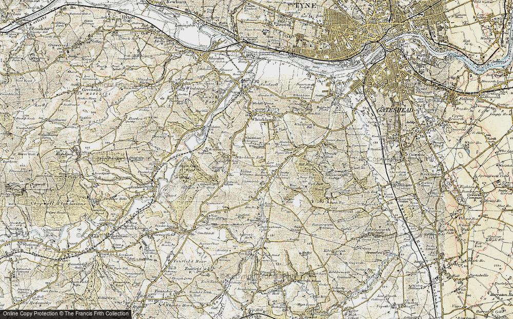 Whickham Fell, 1901-1904