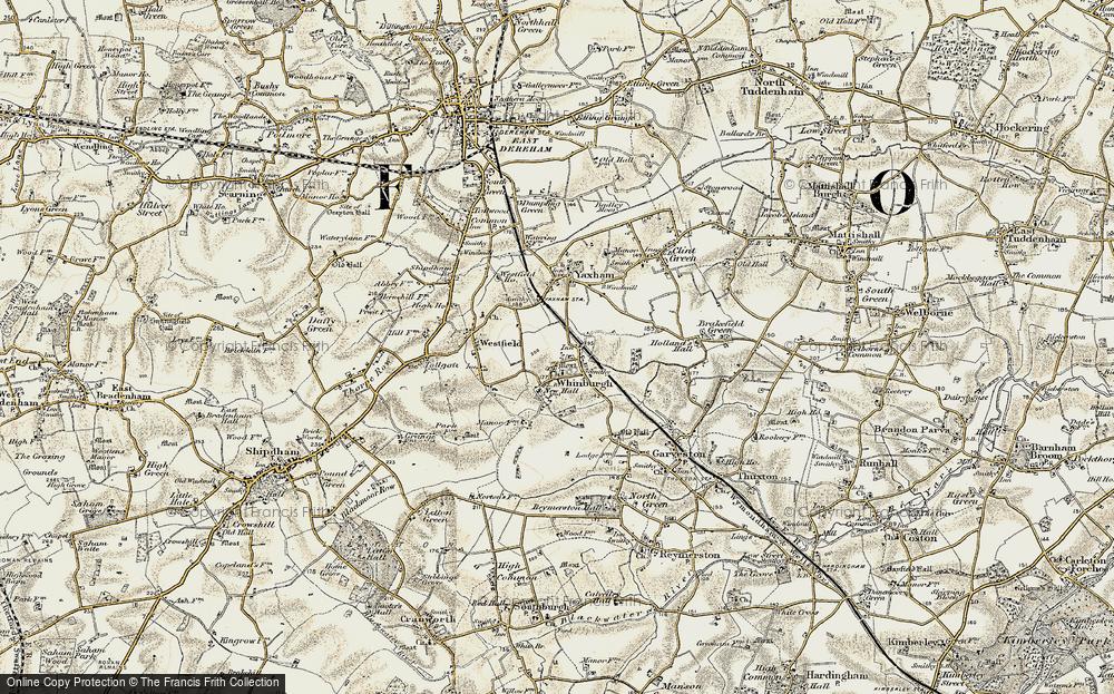 Whinburgh, 1901-1902