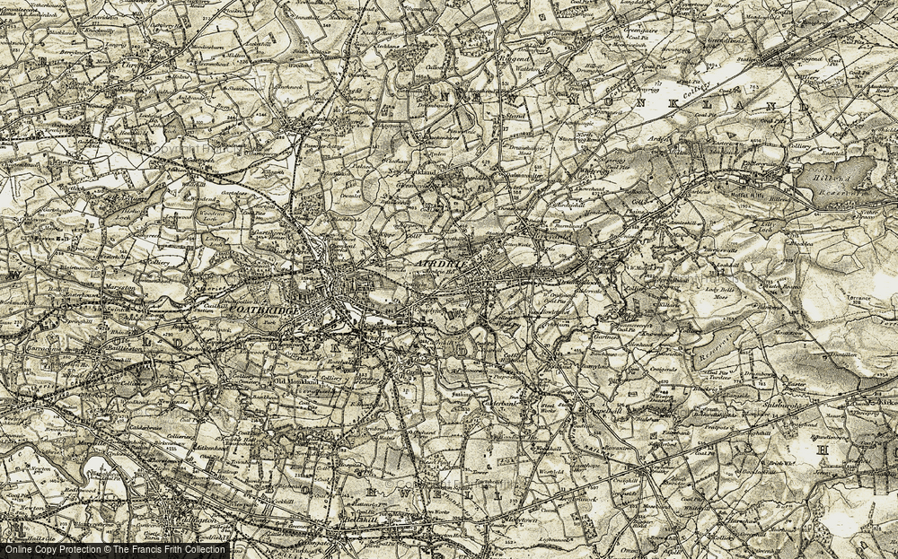 Old Map of Whinhall, 1904-1905 in 1904-1905