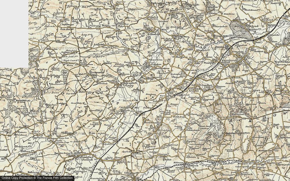 Whipcott, 1898-1900