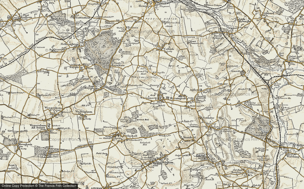 Whissonsett, 1901-1902