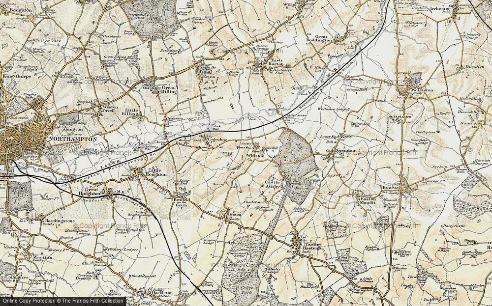 Whiston, 1898-1901