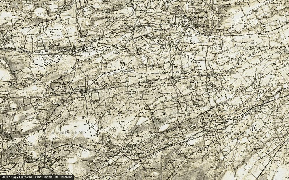 Whitburn, 1904-1905