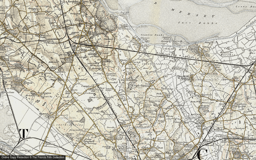Old Map of Whitbyheath, 1902-1903 in 1902-1903
